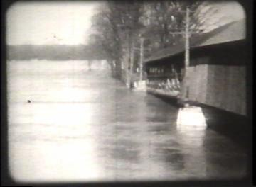 1927 Flood Movie Screenshot: Hinesburg 1