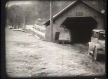 1927 Flood Movie Screenshot: Cambridge 2