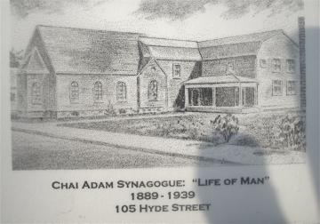 105 Hyde Street: Chai Adam Synagogue