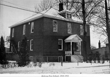264 N. Winooski Ave.: Hebrew Free School