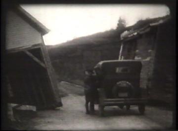 1927 Flood Movie Screenshot: Waterbury 10