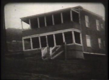 1927 Flood Movie Screenshot: Waterbury 12