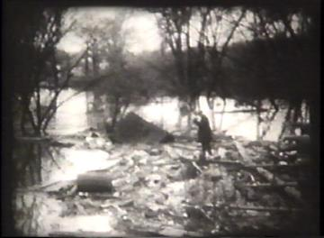 1927 Flood Movie Screenshot: Rutland 11