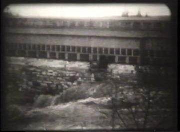 1927 Flood Movie Screenshot: Center Rutland 1
