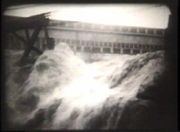 1927 Flood Movie Screenshot: Center Rutland 2