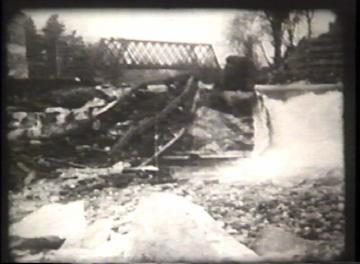 1927 Flood Movie Screenshot: Center Rutland 5