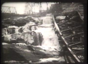 1927 Flood Movie Screenshot: Center Rutland 7