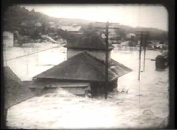 1927 Flood Movie Screenshot: Proctor 3