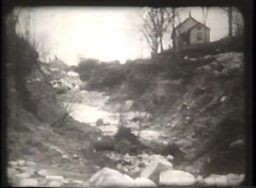 1927 Flood Movie Screenshot: Proctor 7