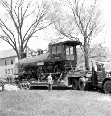 """""""Old 494"""" Outside a Farmhouse"""