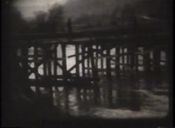 1927 Flood Movie Screenshot: Waterbury 2