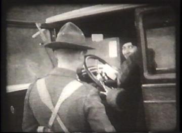1927 Flood Movie Screenshot: Waterbury 11
