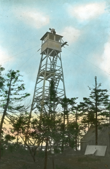 Belvidere Mountain Tower in Summer