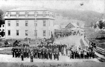 1894 Decoration Day in West Burke