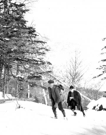 Climbing Taft Trail