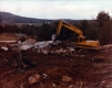 Caterpillar working on Granite Quarry