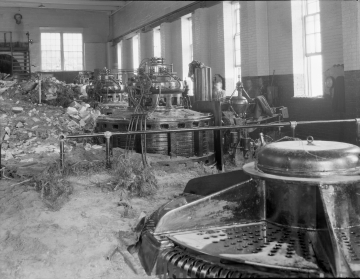 1927 Flood's Effects on the Power House in Proctor