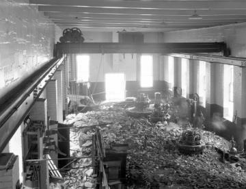 1927 Flood Damage on Power House