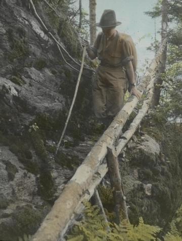 """Ladder Ravine"" on Burnt Rock Mountain"