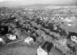 Aerial view of Middlebury from South Main Street