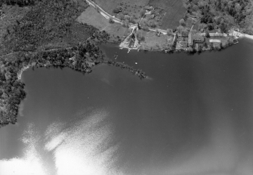 Aerial of Lake Dunmore