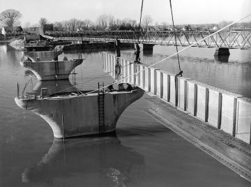Construction on Bridge
