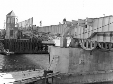 Construction on Drawbridge