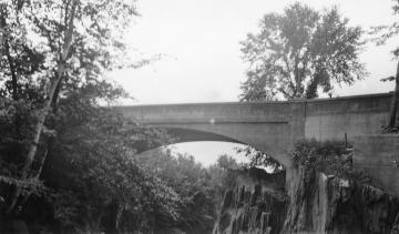 Bridge with Large Rocks