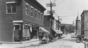 View of Main Street in Middlebury