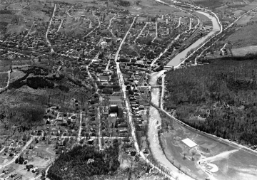 Aerial Photograph of Montpelier