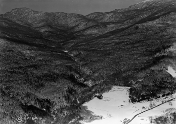 Aerial of Mount Mansfield in 1939