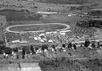 Aerial view of Essex Fair and racetrack