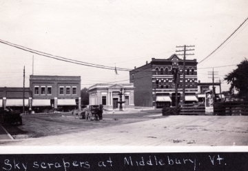 """Skyscrapers at Middlebury"""