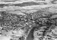 Aerial View of Middlebury, looking south
