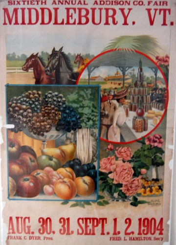 60th Addison County Fair Poster