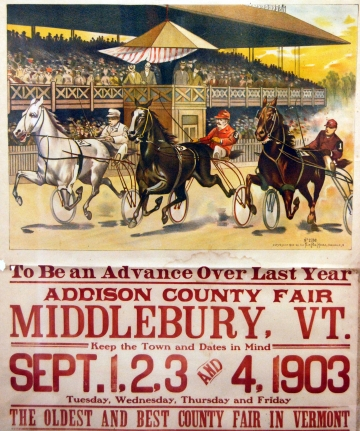 1903 Addison County Fair Poster