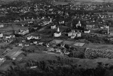 Aerial of Middlebury College