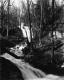 Millstone in Stream at Benjamin Falls