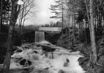 Benjamin Falls and Dam