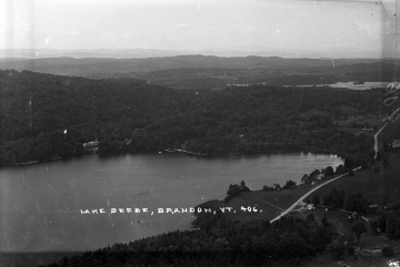 Aerial View of Lake Beebe