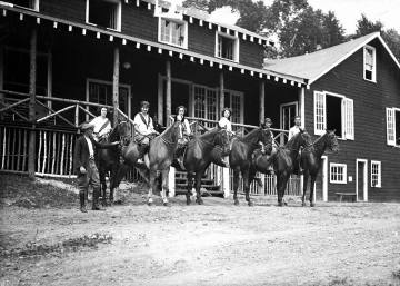 Horseback Riders at Camp Awanee
