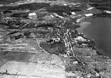 Aerial view of Ferrisburg