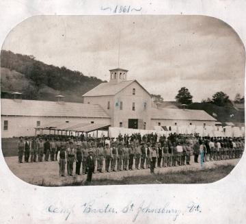 3rd regiment at Camp Baxter