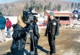 News Crew at Trapp Lodge