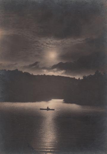 Moonlight On Woodbury Pond