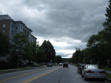 Re-shot of State Street in Montpelier
