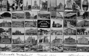 Barre Postcard