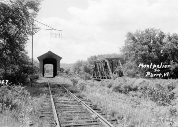 Railroad Tracks to Barre
