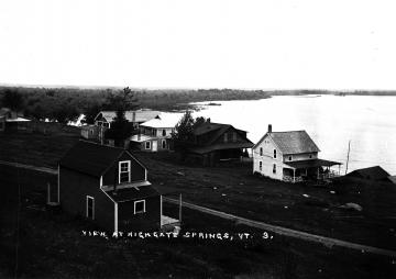 Cottages and Lake at Highgate Springs