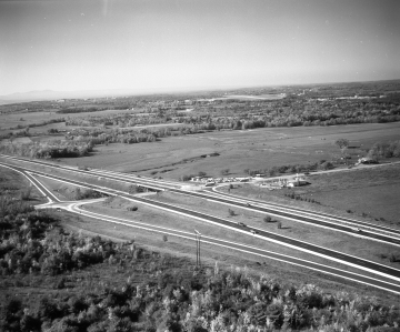 Aerial View: Williston Exit